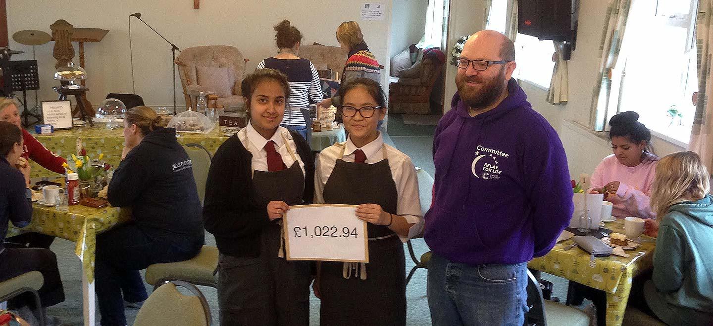 Hiraeth Donates £1,022
